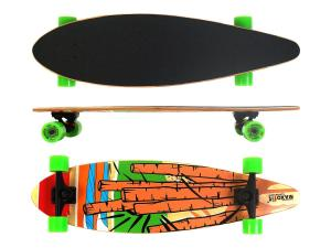 Deskorolka Longboard MAXOfit Cartoon 7