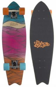 Deskorolka No Rules Cruiser ABEC 7 Waves